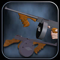 The Tommy Gun (Poser,OBJ and LWO) image 1