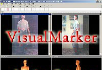 VisualMarker - video motion capture Software markdc