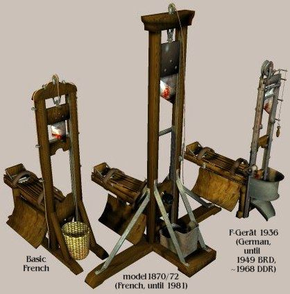 3 Guillotines