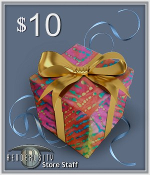 $10 Gift Certificate Services/Rosity Stuff Store Staff