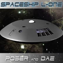 Spaceship-L1 Themed Props/Scenes/Architecture Software lwanmtr