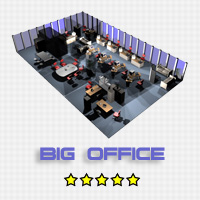 Big Office 3D Models Stringy