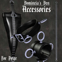 Domineia's Den Accessory Pack 3D Models 3D Figure Assets lwanmtr