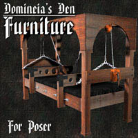 Domineia's Den Furniture 3D Models lwanmtr