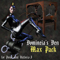 Domineia's Den Max Pack 3D Figure Essentials 3D Models lwanmtr
