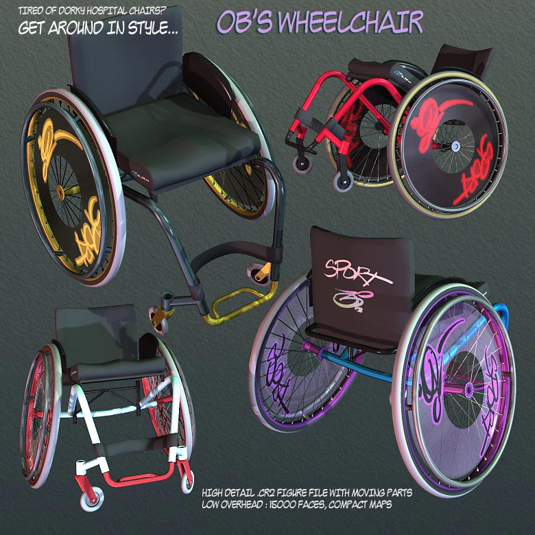 OB's Lightweight Wheelchair