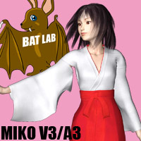 Miko V3/A3 3D Figure Essentials BATLAB