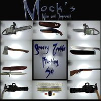 Mock's Groovy Zombie Bashing Set 3D Models Mock