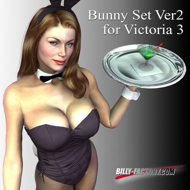 Bunny Girl Set for Victoria 3 Vers 2