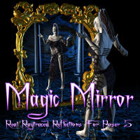 Magic Mirror - Real Raytraced Reflections for Poser 5 and 6 2D Graphics 3D Models ShadowDaleCreations