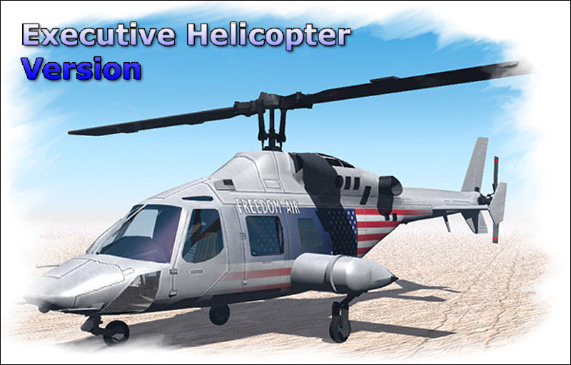 Executive Helicopter (Poser, LWO & Obj)