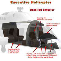 Executive Helicopter (Poser, LWO & Obj) image 4