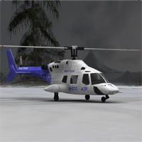 Executive Helicopter (Poser, LWO & Obj) image 2