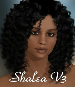 Shalea for V3 3D Figure Assets chrislenn