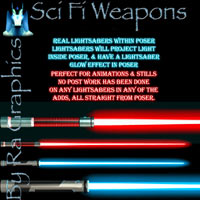Ra Sci Fi Weapons 3D Models 2D Ra Graphics
