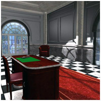 Luxury Office (Poser, Obj and 3DS) 3D Models RPublishing
