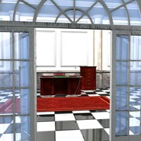 Luxury Office (Poser, Obj and 3DS) image 3