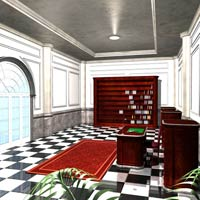 Luxury Office (Poser, Obj and 3DS) image 4