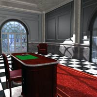 Luxury Office (Poser, Obj and 3DS) image 1
