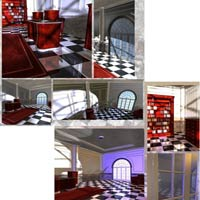 Luxury Office (Poser, Obj and 3DS) image 2