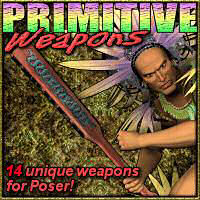 Primitive Weapons 3D Models keihan