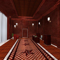 Luxury Reception Hall (Poser, 3DS & OBJ) image 3