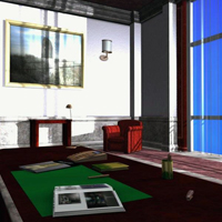 Luxury Reception Hall (Poser, 3DS & OBJ) image 1