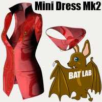 BAT's Mini Dress Mk2 Clothing BATLAB