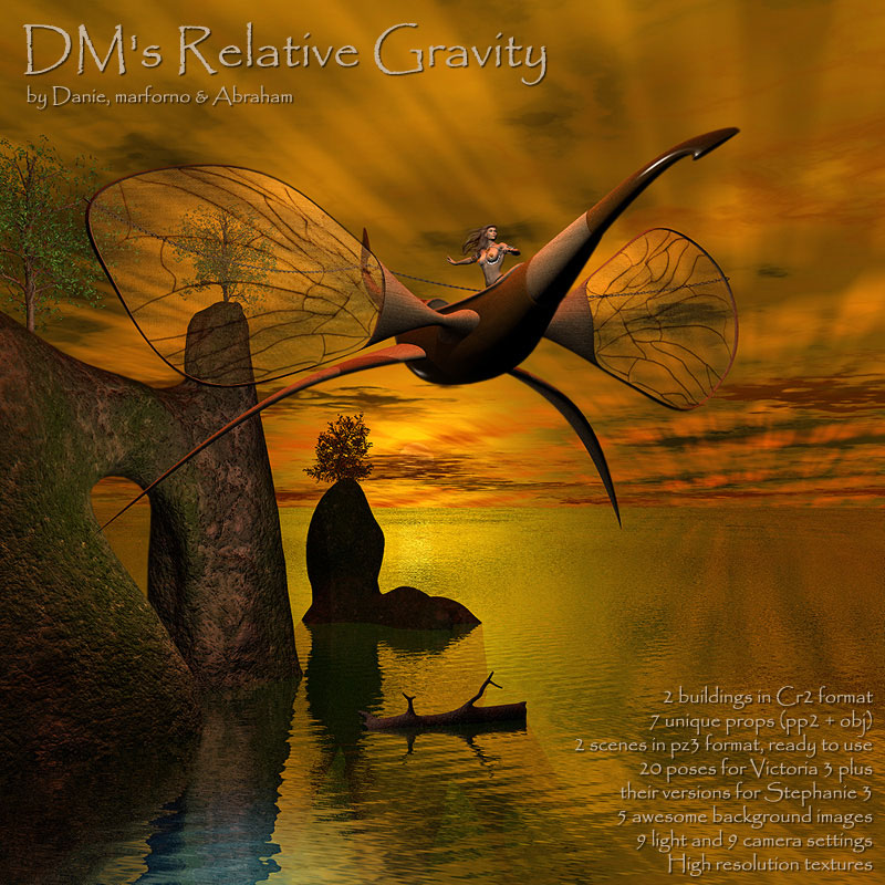 DM's Relative Gravity