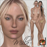 Milla V3 3D Figure Essentials danae