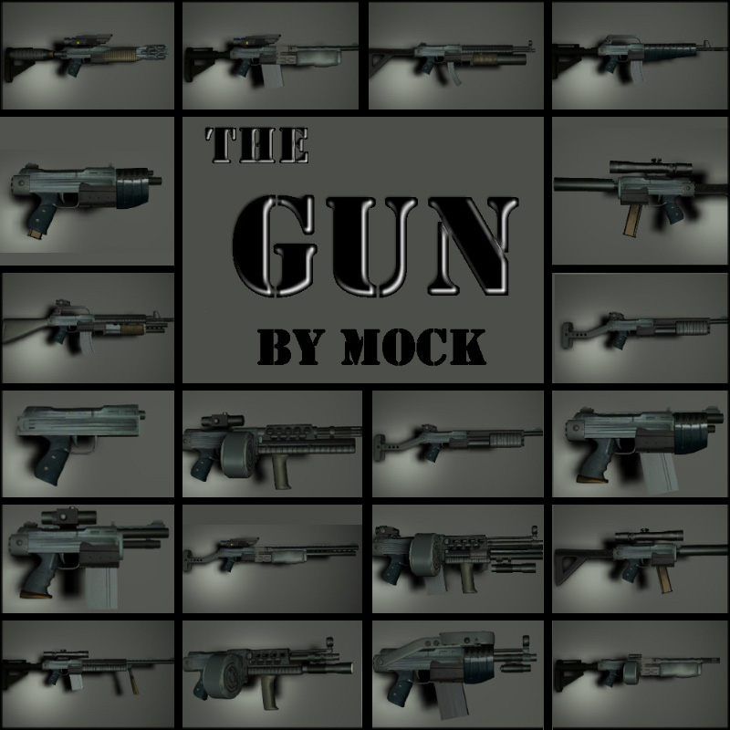 The Gun by Mock
