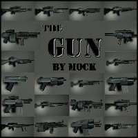 The Gun by Mock 3D Models Mock