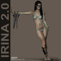 Irina 2.0 3D Figure Essentials Blackhearted