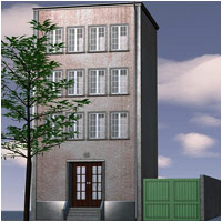 City Building (Poser, OBJ & Vue) 3D Models RPublishing
