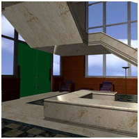 Architectural Staircase & Bldg (Poser & Vue) 3D Models RPublishing