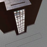 Architectural Staircase & Bldg (Poser & Vue) image 4
