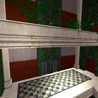 Architectural Staircase & Bldg (Poser & Vue) image 1