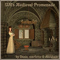 DM's Medieval Promenade by marforno
