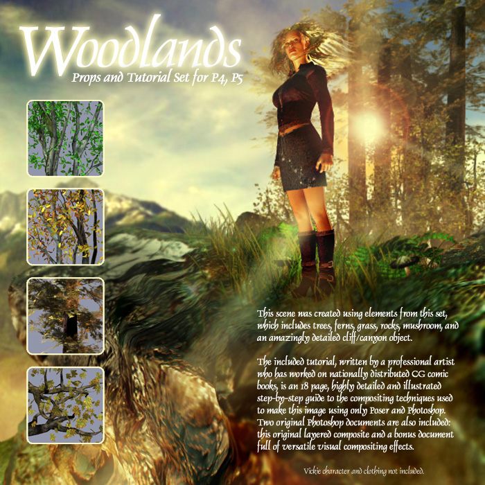 Woodlands: Forest Props & Bonus Tutorial