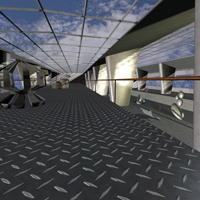 Modern Exhibition Hall for Poser image 3