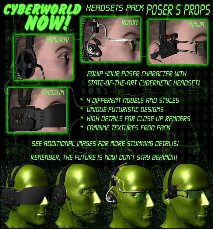 HEADSETS PACK