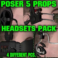 HEADSETS PACK 3D Models coflek-gnorg