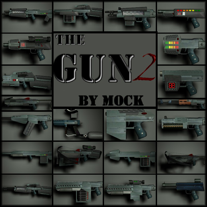 The Gun2 by Mock
