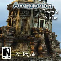 Amazonica Tower2 - The Shrine 3D Models winnston1984