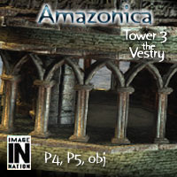 Amazonica Tower3 - The Vestry 3D Models winnston1984