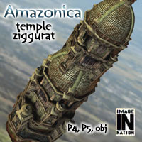 Amazonica -  Temple Spire 3D Models winnston1984