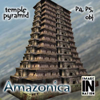 Amazonica - Temple Pyramid 3D Models winnston1984