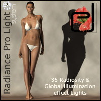 Radiance Pro Light System 3D Models Lights OR Cameras danae