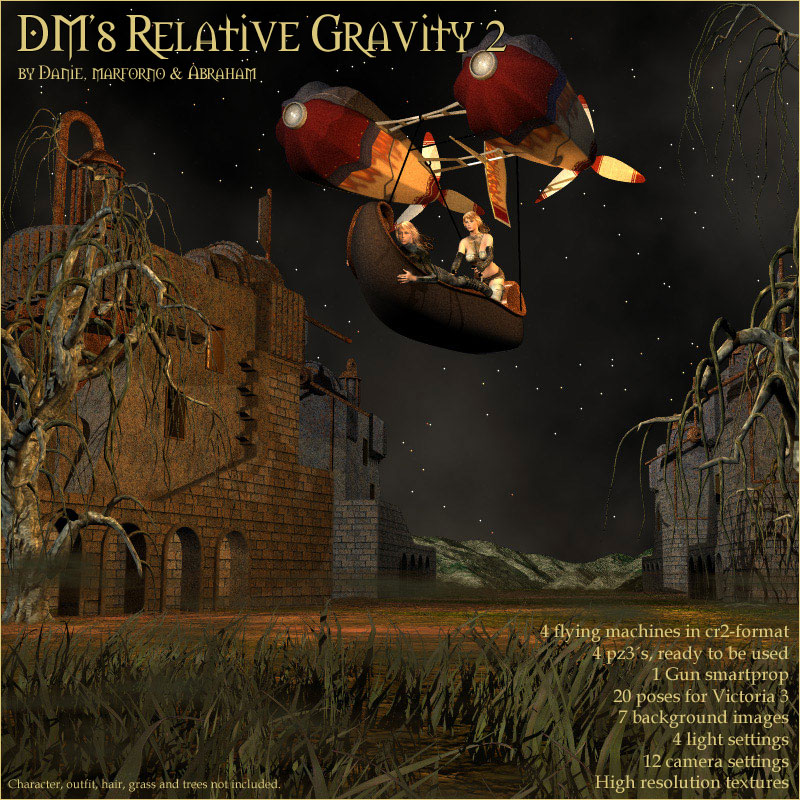 DM's Relative Gravity 2