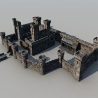 Medieval Castle Evolution 3D Models rodluc2001
